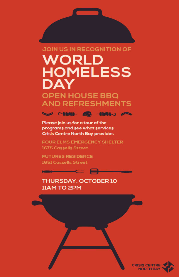 World Homeless Day BBQ and Shelter Tour